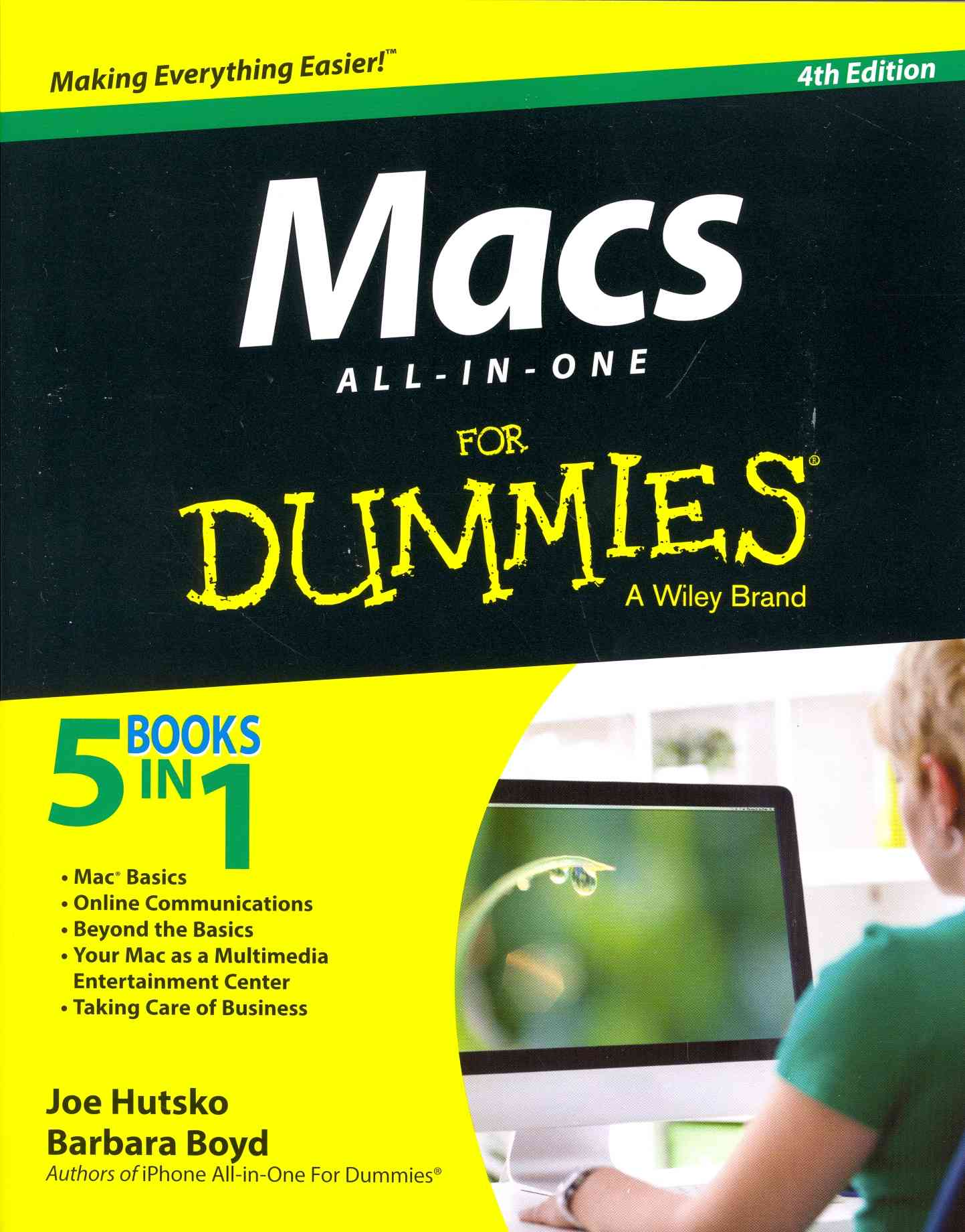 Macs All-in-one for Dummies By Hutsko, Joe/ Boyd, Barbara